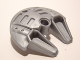 Part No: 45276  Name: Bionicle Weapon 5 x 5 Shield with Dual Scoop Prongs