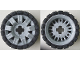 Part No: 45793c01  Name: Wheel 60 x 34 with Black Tire 81 x 40 Balloon Offset Tread