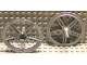 Part No: 50965  Name: Wheel Cover 5 Spoke with Center Stud - 56mm D. - for Wheel 44772