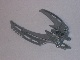 Part No: 64299  Name: Bionicle Weapon Double Curved Blade (Mata Nui Scarab Shield Half)
