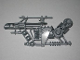Part No: 87809  Name: Hero Factory Weapon - Heavy Metal Shooter Arm