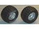 Part No: 22969c02  Name: Wheel 62mm D. x 46mm Technic Racing Large, with Black Tire Technic Power Puller with 'TECHNIC POWER' White Pattern (22969 / 32298pb01)