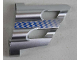 Part No: 32190pb013  Name: Technic, Panel Fairing # 1 Large Short, Large Holes, Side A with Fading Blue Checkered Pattern (Sticker) - Set 8458