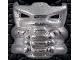 Part No: 42042wmkk  Name: Bionicle Krana Mask Xa, White Metal Krana-Kal