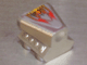 Part No: 50943pb01  Name: Vehicle, Air Scoop Top 2 x 2 with Flame Pattern (Sticker) - Set 8643