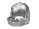 Part No: 62697  Name: Minifig, Headgear Helmet Chin Guard Oversized Jagged