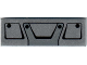 Part No: 63864pb066  Name: Tile 1 x 3 with Black Truck Grille Frame Pattern