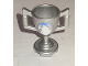 Part No: 89801pb08  Name: Minifigure, Utensil Trophy Cup with Mountain Peak Pattern (Sticker) - Set 8863