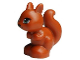Part No: 11568pb01  Name: Squirrel, Friends / Elves with Black, Green and White Eyes and Black Eyelashes, Nose and Mouth Pattern