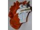 Part No: 12612pb01  Name: Torso/Head Alien, Dogpound Pattern