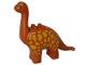 Part No: 31053pb02  Name: Duplo Dinosaur Brachiosaurus Adult with Yellow Spots Pattern