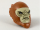 Part No: 37616pb01  Name: Minifigure, Head Modified Hylobon, Closed Mouth Pattern