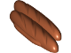 Part No: 60773  Name: Duplo Food French Bread Loaves with Long Side Extensions