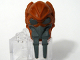Part No: 61200pb01  Name: Minifigure, Head Modified SW Kel Dor with Dark Bluish Gray Mask Pattern (Plo Koon)