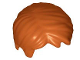 Part No: 62810  Name: Minifig, Hair Short Tousled with Side Part
