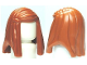 Part No: 92083  Name: Minifig, Hair Female Long Straight with Side Part