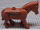 Part No: horse02c01pb02  Name: Duplo Horse with One Stud and Movable Head, Eyes and Saddle Pattern