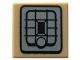 Part No: 3070bpb090  Name: Tile 1 x 1 with SW Rebel Alliance Jetpack Pattern
