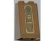 Part No: 3684apb014  Name: Slope 75 2 x 2 x 3 - Hollow Studs with Hieroglyphs, Eye on Top Pattern (Sticker) - Set 7327