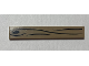 Part No: 6636pb177  Name: Tile, 1 x 6 with Wood Grain Pattern (Sticker) - Set 70812