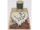 Part No: 973pb3282  Name: Torso Animal Furs with Bone and Rock Pattern