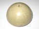 Part No: 99199pb02  Name: Cylinder Hemisphere 11 x 11, Studs on Top with Marbled Tan Pattern