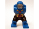 Part No: 18662c01pb01  Name: Body Giant, Darkseid with Black Pants with Gold and Red Markings and Red Circle on Chest Pattern