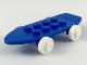Part No: 2146c02  Name: Fabuland Skateboard with White Wheels