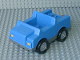 Part No: 2218c04  Name: Duplo Car with 2 x 2 Studs and Dark Gray Base