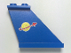 Part No: 2340pb001  Name: Tail 4 x 1 x 3 with Classic Space Logo Pattern on Both Sides