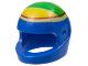 Part No: 2446pb28  Name: Minifigure, Headgear Helmet Standard with Ferrari F. Massa Pattern (8168)