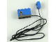 Part No: 2977c02  Name: Electric, Sensor, Rotation with Non-Removable Lead, 104 Studs Long, Blue Connector