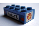 Part No: 3001oldpb08  Name: Brick 2 x 4 with 'RALLYE' and Taillights on Side and Shell Logo on Ends Pattern (Stickers) - Set 619