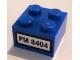 Part No: 3003pb030  Name: Brick 2 x 2 with Black 'PM 8404' on White Background Pattern (Sticker) - Set 8404