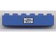 Part No: 3009pb129  Name: Brick 1 x 6 with 'Paris - Roma' Pattern (Sticker) - Set 7715