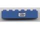 Part No: 3009pb130  Name: Brick 1 x 6 with 'Wien - Zürich' Pattern (Sticker) - Set 7715