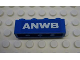Part No: 3010pb037  Name: Brick 1 x 4 with ANWB Pattern (Sticker) - Set 1590-2