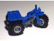 Part No: 30187c05  Name: Tricycle Complete Assembly with Dark Bluish Gray Chassis & Light Bluish Gray Wheels