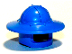 Part No: 30273  Name: Minifigure, Headgear Helmet Castle with Broad Brim