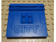 Part No: 30567  Name: Tile, Modified 6 x 6 x 2/3 with 4 Studs and Embossed 'CITY'