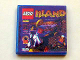 Part No: 3068bpb0222  Name: Tile 2 x 2 with Groove with LEGO Island Game Pattern (Sticker) - Set 3142
