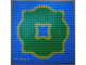 Part No: 3811pb02  Name: Baseplate 32 x 32 with Island and Center Lagoon Pattern