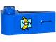 Part No: 3822pb023  Name: Door 1 x 3 x 1 Left with Running Banana Pattern (Sticker) - Set 76026