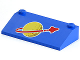Part No: 3939p91  Name: Slope 33 3 x 6 with Classic Space Logo Pattern Large