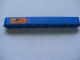 Part No: 40490pb004  Name: Technic, Liftarm 1 x 9 Thick with Dump Truck and Arrow Pattern (Sticker) - Set 8273