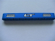 Part No: 40490pb006  Name: Technic, Liftarm 1 x 9 Thick with 'LT' and 2 Vents Pattern (Sticker) - Set 8273