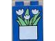 Part No: 4066pb056  Name: Duplo, Brick 1 x 2 x 2 with Flowerpot Pattern