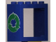 Part No: 4132pb01  Name: Window 2 x 4 x 3 Frame with Recycling Arrows Pattern