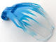 Part No: 41671pb01  Name: Bionicle Bohrok Windscreen 4 x 5 x 7 with Marbled Trans-Clear Pattern