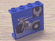 Part No: 4215bpx26  Name: Panel 1 x 4 x 3 - Hollow Studs with Motorcycle and Wrench Pattern